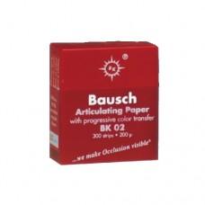 ВК-02 (красная)  200 мкм BAUSCH.Артикуляционная бумага
