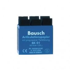 ВК-01 (синяя) BAUSCH Артикуляционная бумага 200мкм